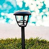Aigostar Lampada Solare Giardino Esterno LED Luci Solari Giardino Lampade da Esterno per Prato (Luce Fredda Stile A, Pacco da 12)
