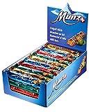 Schweizer Schokolade | MUNZ Prügeli Milch | Branches Classic | 40 Praliné Schokoladenriegel á 46g im Thekendisplay | 1,84kg Großpackung | Maestrani Milchschokolade | Glutenfrei