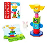 SmartMax My First Totem STEM Magnetic Discovery Building Game with Tactile and Rattling Parts for Ages 1-5