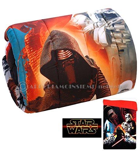 Colcha invernal para cama de una plaza de Disney, colección Star Wars