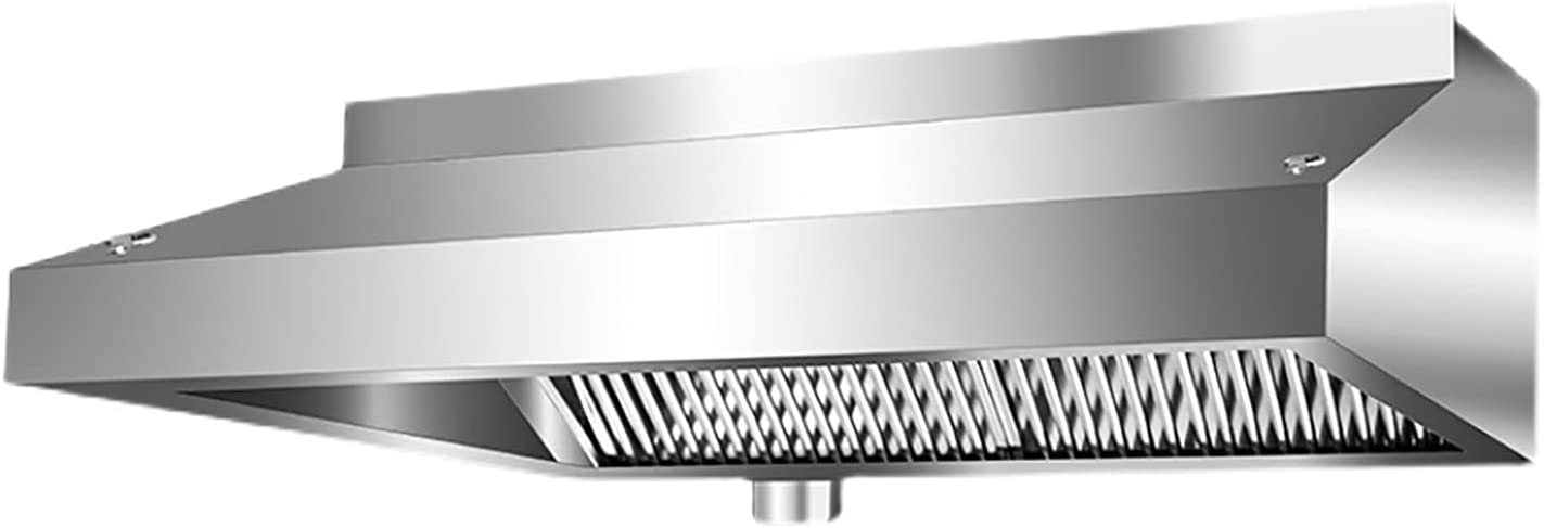 PEIHAN Campanas extractoras de Pared Campana extractora de Chimenea de 100/120 cm Campana extractora de Acero Inoxidable Conductos de recirculación Modo de ventilación con filtros de Grasa