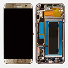 ePartSolution_Replacement Part for Samsung Galaxy S7 Edge G935A G935T G935V G935P LCD Display Digitizer Touch Screen + Frame Assembly USA (Gold)