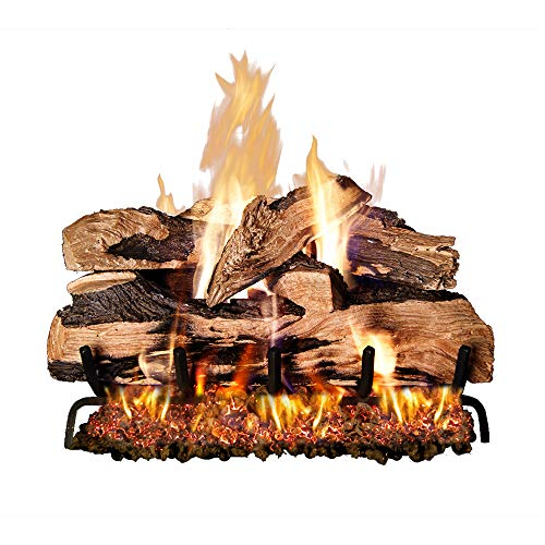 Peterson Real Fyre 24-inch Split Oak Designer Plus Gas Logs