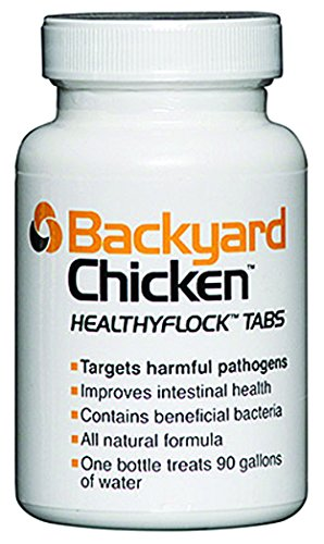 Backyard Chicken Healthyflock Tabs, 90 Tabs, Treats 90 Gallons of Water