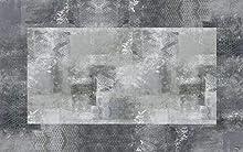 Vilber New Classic Alfombra, Vinilo, Gris, 75x120x0.2cm