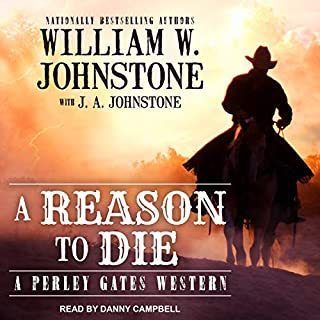 A Reason to Die audiobook cover art