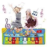 LEADSTAR Alfombra para Piano, Alfombra de Teclado Táctil Musical Touch Juego Musical, Alfombra para Teclado, Música para Teclado, Alfombra Electrónica Portátil para el Baile para Niños de 3 Años