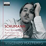 Schumann: Piano Sonata Op.14 Romanzen Op.28 Humoreske Op.20 by Vincenzo Maltempo (2014-12-18)
