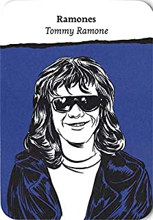 Tommy Ramone trading Card (Ramones) 2018 Come Together Rock Bands