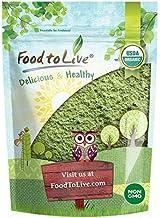 Organic Wheatgrass Powder, 4 Ounces — Non-GMO, Whole-Leaf, Raw, Non-Irradiated, Pure, Vegan Superfood, Bulk, Great for Jui...