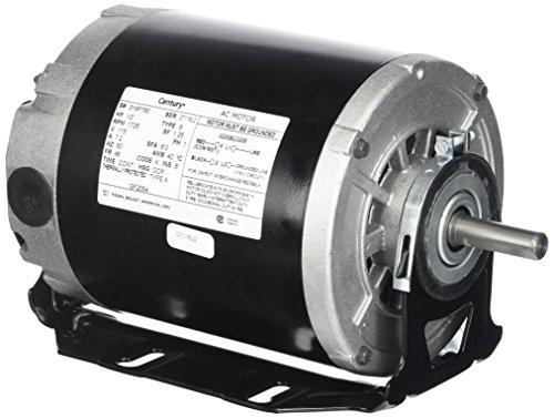 A.O. Smith GF2054 1/2 hp, 1725 RPM, 115 volts, 48/56 Frame, ODP, Sleeve Bearing Belt Drive Blower Motor