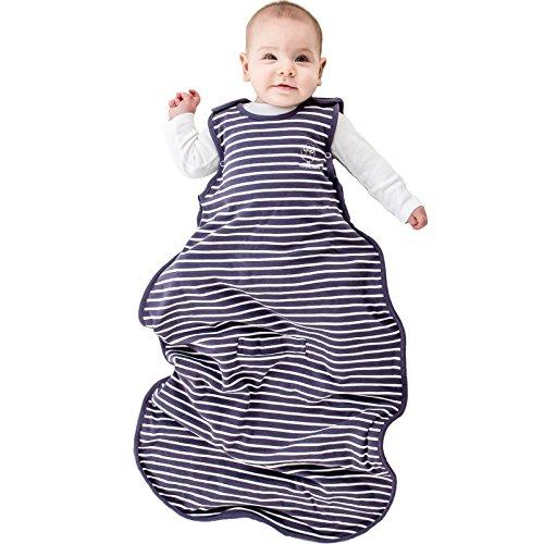 Woolino Kleinkind Schlafsack - 4-Jahreszeiten-Merino-Wolle-tragbare Decke 2-4 Jahre Violett