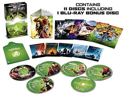 Marvel Cinematic Universe Phase 3 Part 1 Box Set (11 Blu-Ray) [Edizione: Regno Unito]