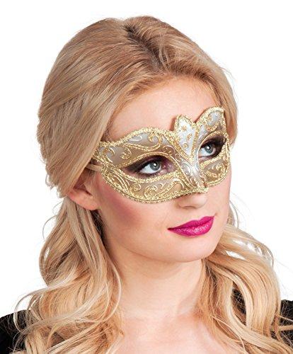 Boland 00338 - Augenmaske Venice Felina, Gold