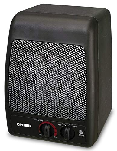 optimus oscillating space heater - 5