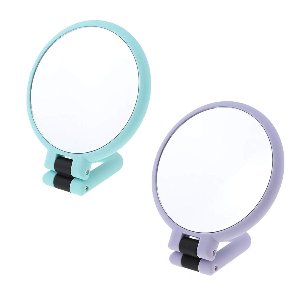 それる逃れる債権者DYNWAVE 化粧鏡 折りたたみ 両面 拡大鏡 卓上鏡 化粧ミラー 15倍拡大 ABS +ガラス 折りたたみ式