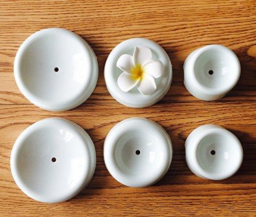 Set di 6 stampi per essiccazione dello zucchero fondente; set di accessori per asciugare decorazioni a fiori di cioccolato, per torte, stampi a bottone di forma circolare in plastica