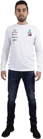 Formula 1 - Camiseta de Manga Larga para Hombre, Talla S