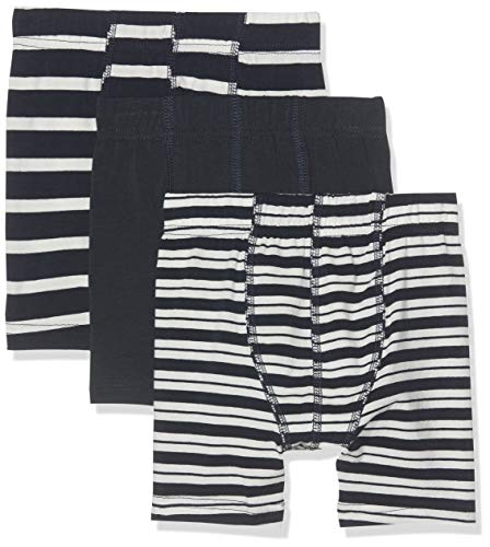Name It Nmmtights 3p Yd Noos Boxer, Multicolore (Dark Sapphire Dark Sapphire), 86 (Lot de 3) Bébé garçon