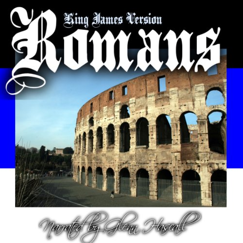 The Book of Romans Audiobook By King James Bible cover art