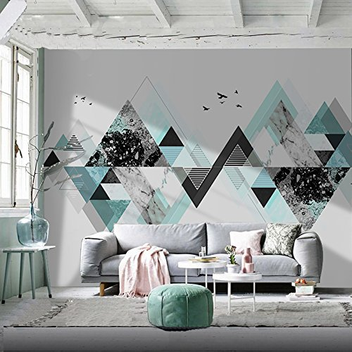 Wallpaper Wallpaperpersonality 3D Wallpaper Wallpaper Tv Background Wallpaper Living Room Sofa Bedroom Wallpaper Expand Urban Wind(169.3 By 118.1 In)