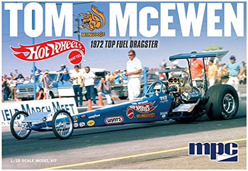 Tom Mongoose McEwen 1972 Rear Engine Dragster (Hot Wheels)