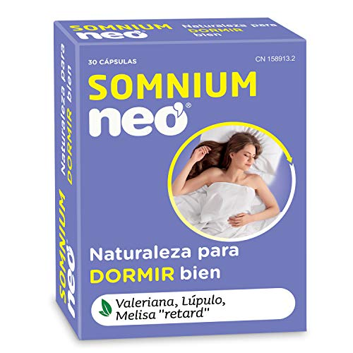 NEO | Sonnio | Contro l'insonnia | Con Valeriana, Luppolo e Melissa 'Retard' | Naturale | dormire | 30 Capsule | Assumere 1 compressa al giorno 30 minuti prima di andare a letto
