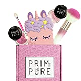 Real Natural Organic Makeup Kit For Kids – Perfect for Play Dates & Birthday Parties | Kids Eyeshadow Makeup – Mineral Blush – Prim And Pure | Makeup Gift Set for Kids (Pink)
