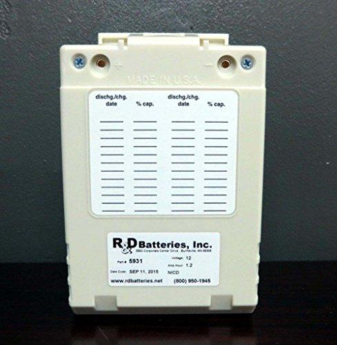 NEW Physio Control Lifepak 12 Defibrillator Defib NiCd Battery LP12 Fastpack