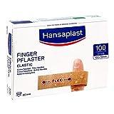 Hansaplast Fingerverband Elastic 12 x 2 cm, 100 St. Pflaster