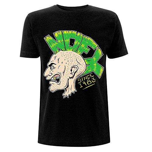 Nofx Herren T-Shirt Schwarz Schwarz Gr. XL, Schwarz
