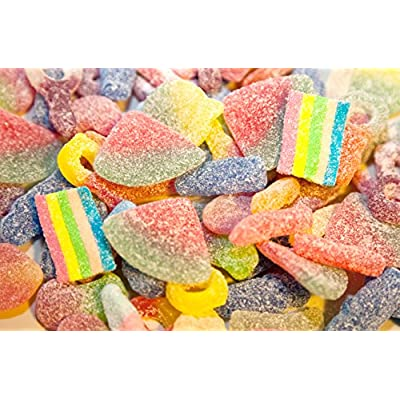 ultimate fizzy pick n mix jelly sweet bag selection 1kg - quality branded sweets Fizzy Pick N Mix Jelly Sweet Bag Selection, 1Kg 51jph4m4jzL