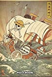 "Notebook: One Piece Thousand Sunny (3), Journal for Writing, College Ruled Size 6"" x 9"", 110 Pages."