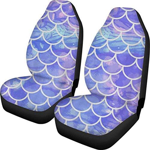 Neuheit Design Auto Vordersitzbezüge für SUV 2Packs Bedruckte Sitzkissen Auto Interior Seat Protector Decorative