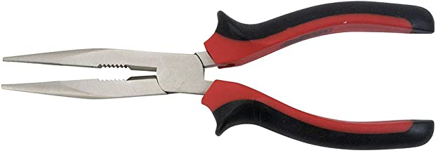 Cogex 10049 Pince bec rond 160 mm bimati/ère Gris