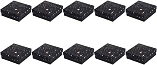 Desconocido Generic 10 Unidades Caja de Joyería de Cartón Caja de Joyería de Plata Única Caja de Almacenamiento de Anillo ...