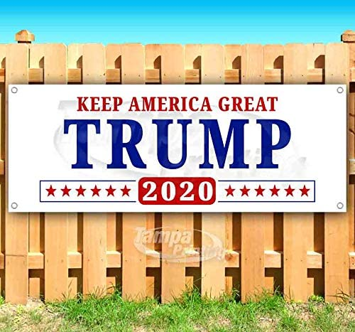 Trump Keep セール商品 全国どこでも送料無料 America Great 2020 Banner oz 13 Heavy- Non-Fabric