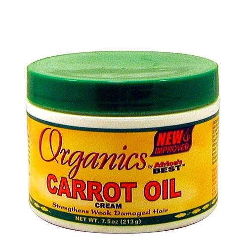 crème nourrissante carrot oil - organics
