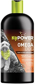 Pets Primal K9-Power Omega Dog - Healthy Pure Organic Omega3-32 Ounce