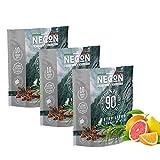 [3 Pezzi] NECON Natural Wellness - Cibo per Gatti Sterilizzati Made in Italy 3x400g (Tacchino & Riso)