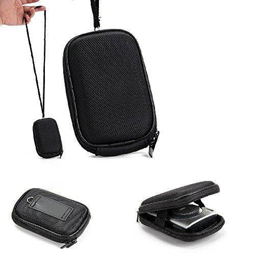 K-S-Trade Kameratasche Kompatibel Mit Sony Cyber-Shot DSC-WX220 Hardcase Für Kompaktkamera Gürteltasche Case Schutz Hülle Fototasche