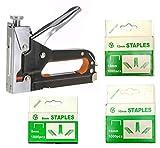 Inditrust Heavy Duty Stapler Staple Gun Nailer Tacker with 3000 Staples Nails