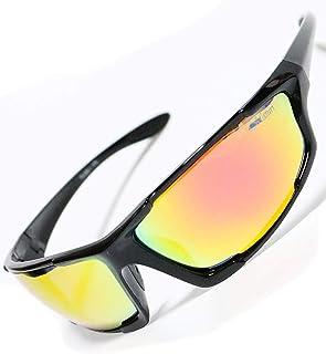 [紫外線99%カット偏光]高品質 サングラス スポーツ 軽量 運転 オリジナルケース付き