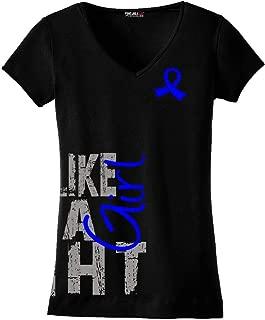 Side Wrap Ladies V-Neck T-Shirt