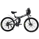 H&J Electric folding mountain bike 21 speed 48V15AH adult folding electric power scooter
