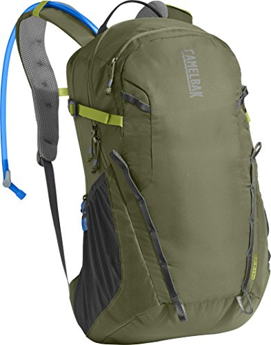 CamelBak Cloud Walker 18 Crux Reservoir Hydration Pack, Lichen Green/Dark Citron, 2.5 L/85 oz