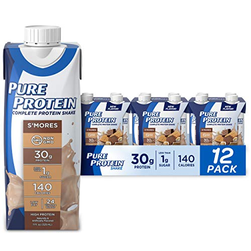 Pure Protein Complete Ready to Drink Protein Shake 11oz, Pack of 12
