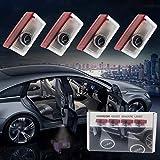 Luce di benvenuto per portiera auto, proiettore con logo HD, Plug & Play