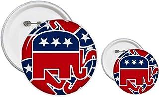Éléphant de l'Amérique République Pin's Badge Design Kit de Loisirs Créatifs