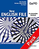 New English File Pre-Intermediate. Workbook with Key and MultiROM Pack: Six-level general English course for adults: Workbook with Answer Booklet and ... lev (New English File Second Edition)